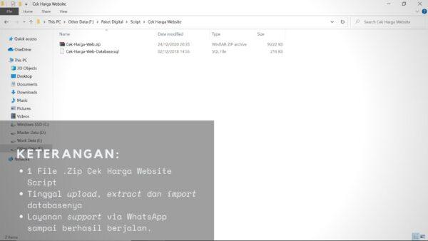 Gambar Detail Script Code Atau Kode Tools Cek Harga Website Dan Kalkulator Situs Web Untuk Moneysite