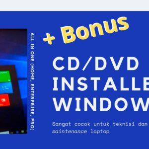 Gambar Produk CD DVD Windows 10 8.1 8 Dan 7 All In One Installer 3264 Bit Plus Microsoft Office