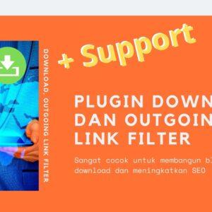 Gambar Produk Plugin Download Dan Outgoing Link Filter Wordpress Plus Layanan Support