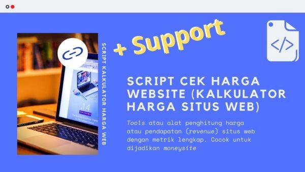 Gambar Produk Script Kode Tools Alat Cek Harga Website Penghitung Kalkulator Harga Situs Web Untuk Moneysite