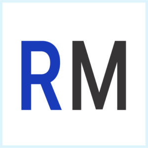 RM Digital Main Favicon White