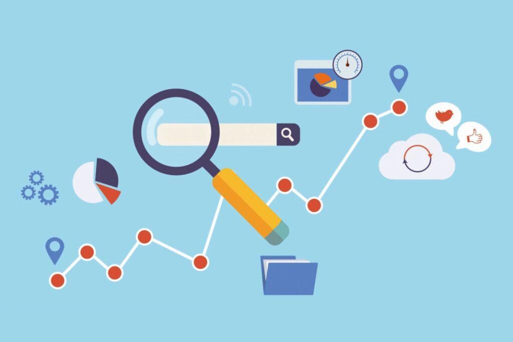 Ilustrasi Gambar Analisis SEO Dan Manfaatnya Untuk Search Engine Result Page Atau SERP