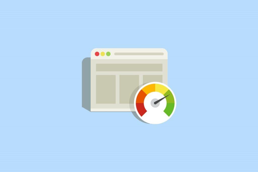 Ilustrasi Gambar Cara Meningkatkan Kecepatan Website Atau Web Speed